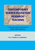 Contemporary Science Education Research Proceedings of ESERA 2009 Book1